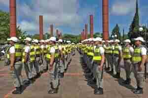Em Porto Alegre foram designados 142 policiais militares | Foto: Alina Souza