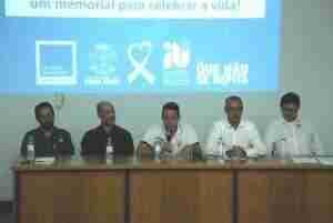 Lançamento de concurso público de projetos arquitetônicos para a construção do Memorial para as vítimas da Kiss | Foto: Renato Oliveira / Especial / CP