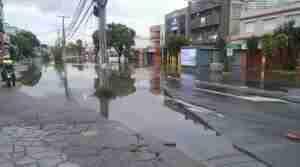 Avenida Otto Niemeyer ficou mais de 15h bloqueada. Foto: Divulgação / SMSURB