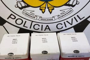 Medicação deve ser entregue pelos pacientes na Secretaria Estadual da Saúde / Foto: Polícia Civil