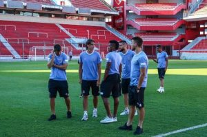 Grêmio busca superação em primeiro desafio contra Independiente. Foto: Lucas Uebel / Grêmio / Flickr / Divulgação / CP