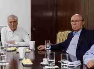 Ministro da Fazenda teve encontro com Temer e relator da reforma no Jaburu. Foto: Marcos Corrêa / PR / Divulgação CP