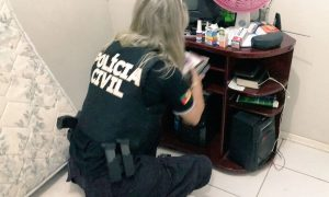 Polícia cumpre mandados em Osório / Foto: Polícia Civil / Divulgação