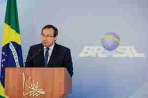 Porta-voz da Presidência anuncia criação do Ministério da Segurança Pública. Foto: Valdenio Vieira / PR / CP