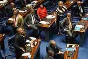 Decreto do presidente Temer teve 55 votos a favor e 13 contrários. Foto: Fábio Rodrigues Pozzebom / ABr / CP