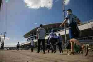 Partida entre Grêmio x Independiente (ARG), acontece a partir das 21h45min na Arena. Foto: Cesar Lopes/ PMPA