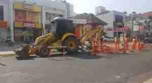 Comerciantes reclamam do problema que atinge a região. Foto: Guilherme Kepler / Rádio Guaíba