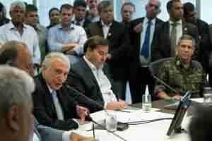 Temer participou de reunião no Palácio da Guanabara | Foto: Alan Santos / PR / CP
