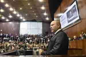 Marlon Santos assume presidência da Assembleia Legislativa do RS | Foto: Marcelo Bertani / Agência ALRS / Divulgação / CP