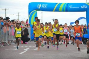 Corridas encerram temporada de verão do Sesc | Foto: Fabiano do Amaral / CP