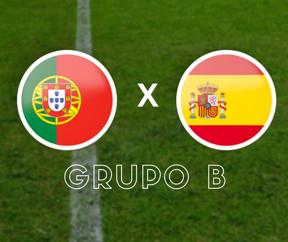bece898dc8b69 Espanha e Portugal fazem o jogo mais aguardado da 1ª rodada da Copa - Radio  Guaíba