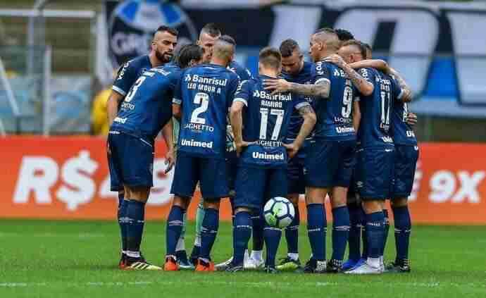 Grêmio espera por Maicon para definir time contra o Santos - Radio ... aace7acfb832e
