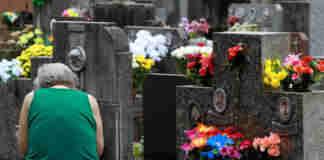 cemitério finados