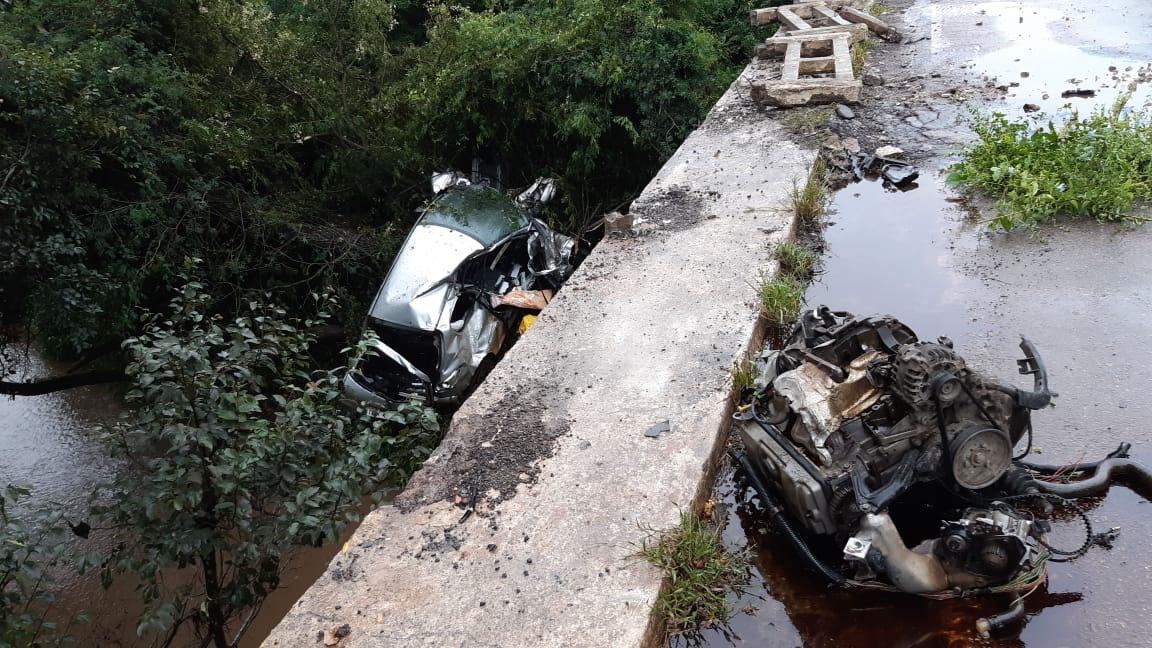 Acidente deixa um morto na BR 290, em Cachoeira do Sul