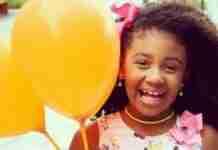 Ágatha Felix tinha 8 anos quando morreu baleada no Rio de Janeiro | Foto: Reprodução