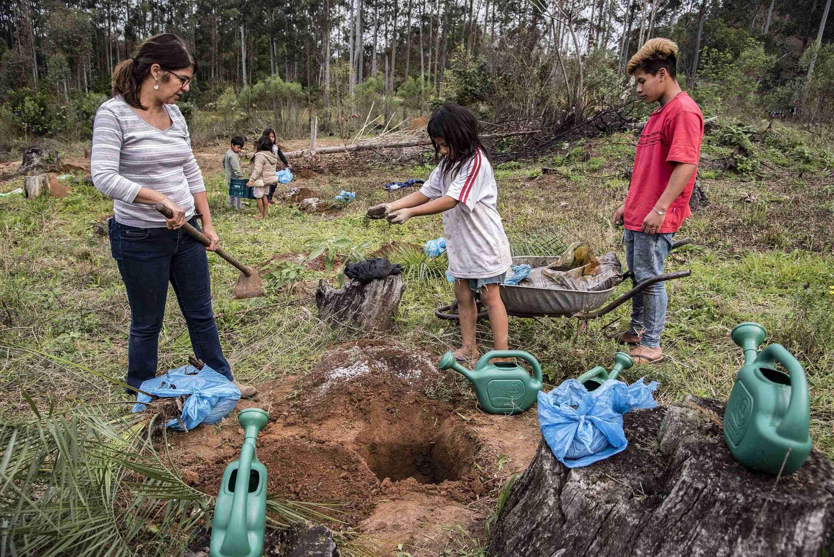 FOTOS FERNANDO DIAS/SEAPDR guarani-butiá 2-02P