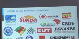 Imesf: entidades que ingressaram na Justiça contra Instituto justificam mudança de postura. Foto: Guilherme Kepler/Rádio Guaíba