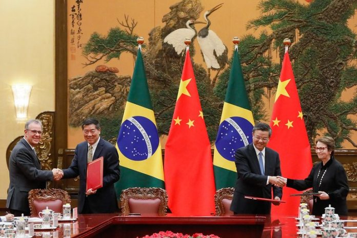 Ministra Tereza Cristina está no país asiático acompanhando a comitiva do presidente Jair Bolsonaro