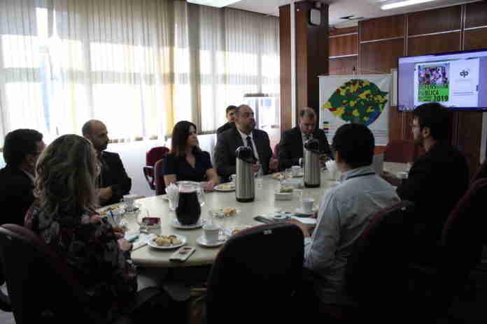 Defensoria Pública recebeu jornalistas em um café da manhã | Foto: Divulgação/Defensoria Pública