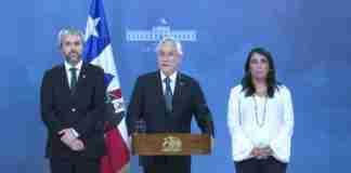 Presidente do Chile, Sebastian Piñera, é alvo de críticas em protestos | Foto: Reprodução/Twitter/Sebastian Piñera