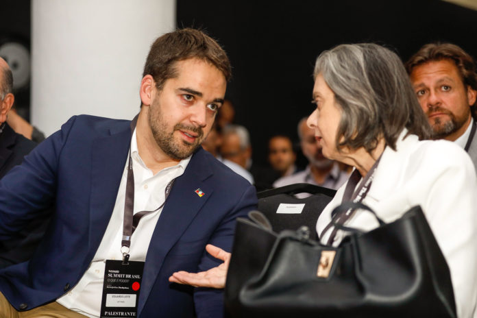 Eduardo Leite se encontrou com ministra no final de outubro em São Paulo | Foto: Itamar Aguiar/Palácio Piratini
