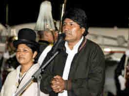 Evo Morales renunciou após sofrer pressão das Forças Armadas   Foto: Divulgação/Cancillería Ecuador