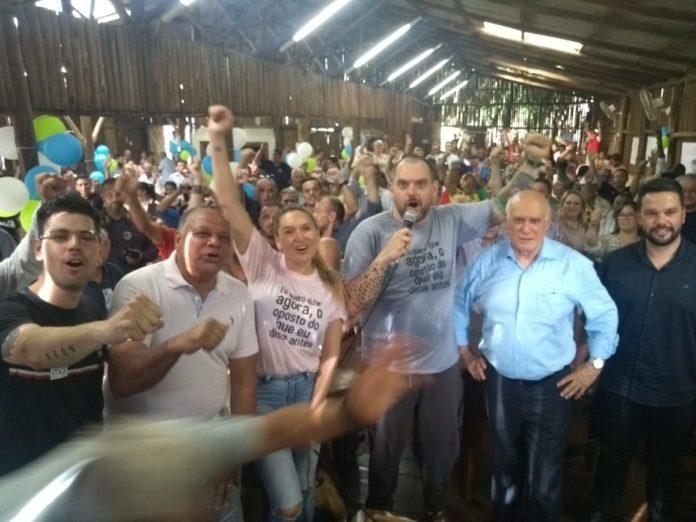 Rodrigo Maroni (C) deve representar o Podemos nas eleições municipais de 2020 | Foto: Divulgação/Podemos