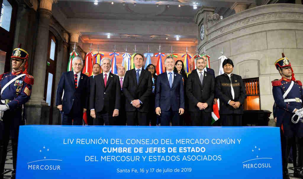 Última Cúpula do Mercosul foi realizada em Santa Fé, na Argentina, em junho de 2019 | Foto: Divulgação/Prensa Presidencia/Casa Rosada