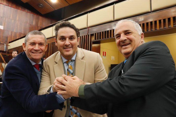Trio do PSL na Assembleia deve migrar para a Aliança pelo Brasil | Foto: Nataniel Corrêa/Gab. Dep. Vilmar Lourenço/ALRS