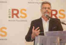 Faisal Karam falou da unificação do calendário escolar e da greve de professores | Foto: Felipe Dalla Valle/Palácio Piratini