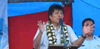 Evo Morales renunciou após pressão de militares | Foto: Divulgação/Wikimedia/Kilobug