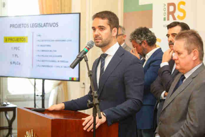 Pacote será entregue nesta quarta à Assembleia Legislativa   Foto: Felipe Dalla Valle/Palácio Piratini