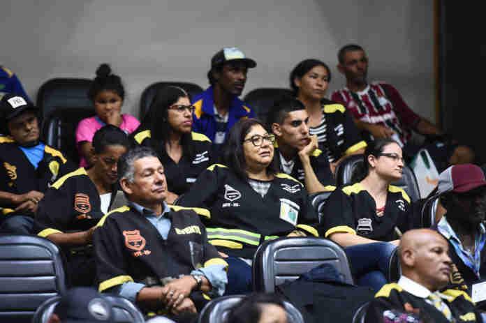 Guardadores acompanharam votação do projeto dos