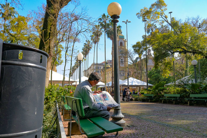 Idosos não vão poder acessar parque e praças da cidade durante vigência do decreto   Foto: Alex Rocha/PMPA