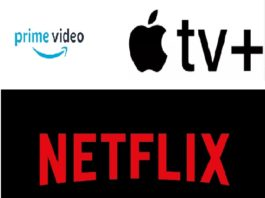 Amazon Prime Video, Apple TV+ e Netflix