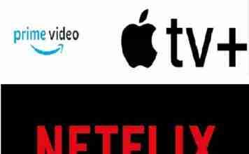 Amazon Prime Video, Apple TV+ e Netflix