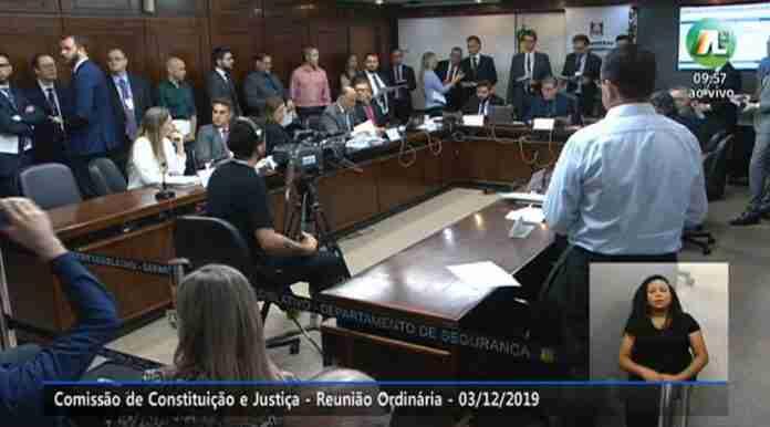CCJ da Assembleia analisou projetos polêmicos nesta terça-feira | Foto: Reprodução/ALRS