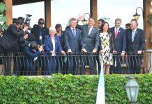Bolsonaro recebeu a Lucia Topolansky (Uruguai); Mauricio Macri (Argentina); Karen Longaric (Bolívia); e Mario Abdo Benotez (Paraguai) | Foto: Guilherme Almeida/Especial/Correio do Povo