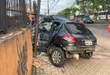 colisão carro