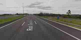 Acidente ocorreu na altura do quilômetro 68 em Gravataí   Foto: Reprodução/Google Street View