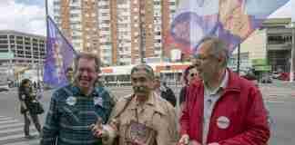 Olívio Dutra defendeu indicação de Miguel Rossetto (D) como vice de Manuela D'Ávila | Foto: Ubirajara Machado/PT