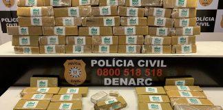 Entorpecentes seriam distribuídos em bocas de fumo da Região Metropolitana   Foto: Polícia Civil/CP