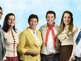 Elenir (C) foi eleita presidente do MTG por ter um conselheiro de idade mais avançada   Foto: Reprodução/CP
