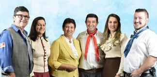 Elenir (C) foi eleita presidente do MTG por ter um conselheiro de idade mais avançada | Foto: Reprodução/CP