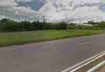 Ocorrência com vítima no Km 24 da RS-239 fatal foi atendida pelo Comando Rodoviário da BM em Sapiranga | Foto: Reprodução/Google Street View