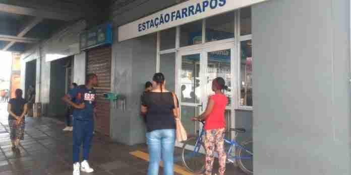 Estações da Trensurb foram fechadas a partir as 9h30min da manhã | Foto: Eduardo Amaral/Correio do Povo