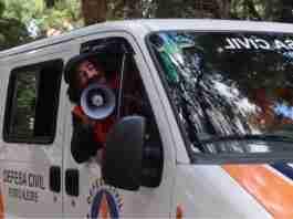 Guri de Uruguaiana fez alertas à população em unidade móvel da Defesa Civil de Porto Alegre   Foto: Reprodução/YouTube/Guri de Uruguaiana