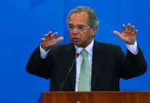 Ministro Paulo Guedes falou de plano para trabalhadores informais com prefeitos | Foto: Antonio Cruz/Agência Brasil