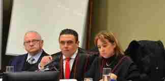 Promotor Eugênio Paes Amorim no júri do caso Eliseu Santos em 2016 | Foto: Eduardo Nichele/TJRS