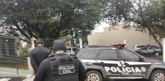 Com a detenção do suspeito, os agentes da 1ª DP pretendem agora encontrar os demais cúmplices | Foto: Polícia Civil/Divulgação
